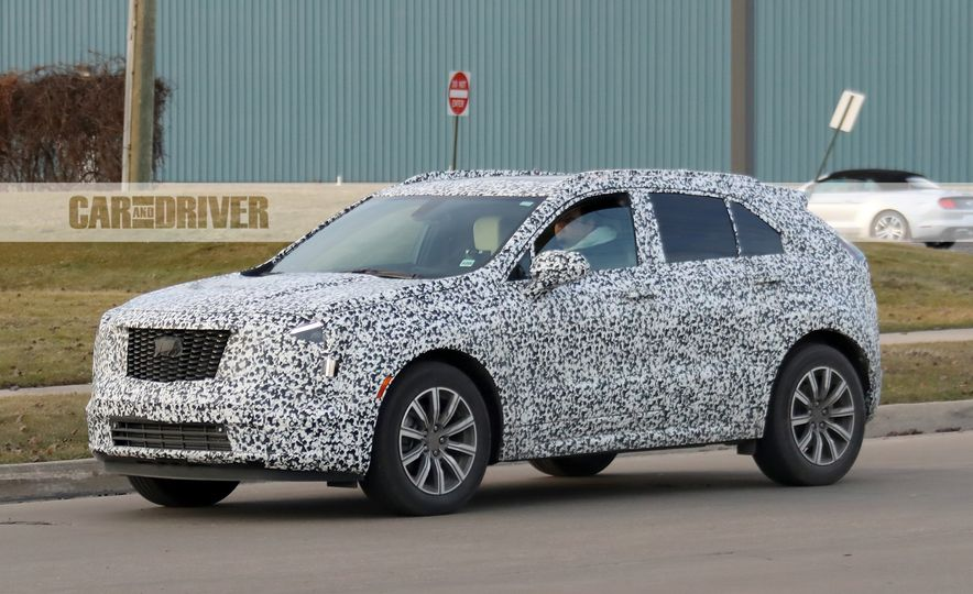 2019 Cadillac XT4 (spy photo) - Slide 5
