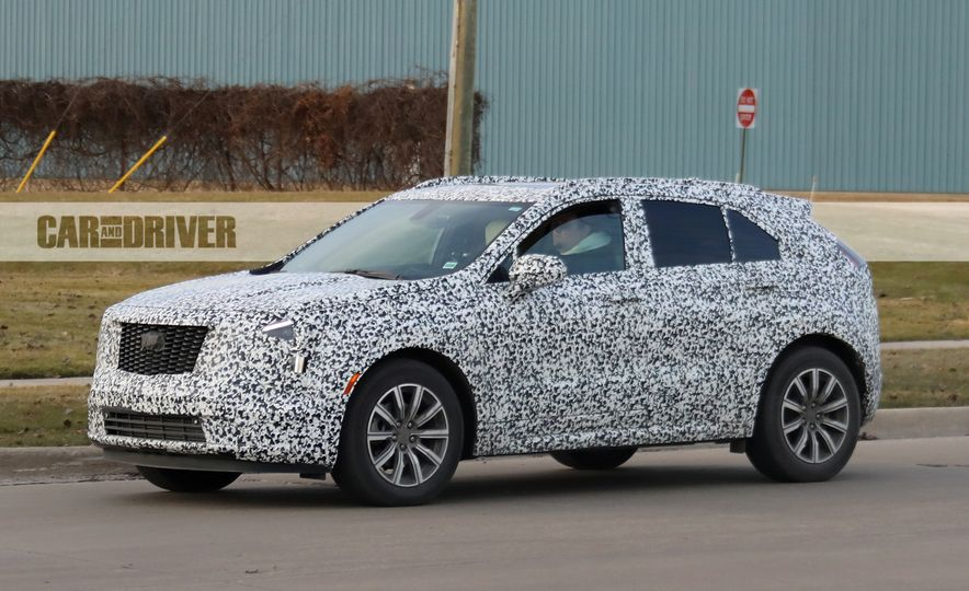 2019 Cadillac XT4 (spy photo) - Slide 6