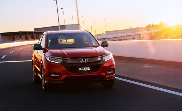 2019 Honda HR-V Updates Previewed by Japan-Market Vezel Refresh