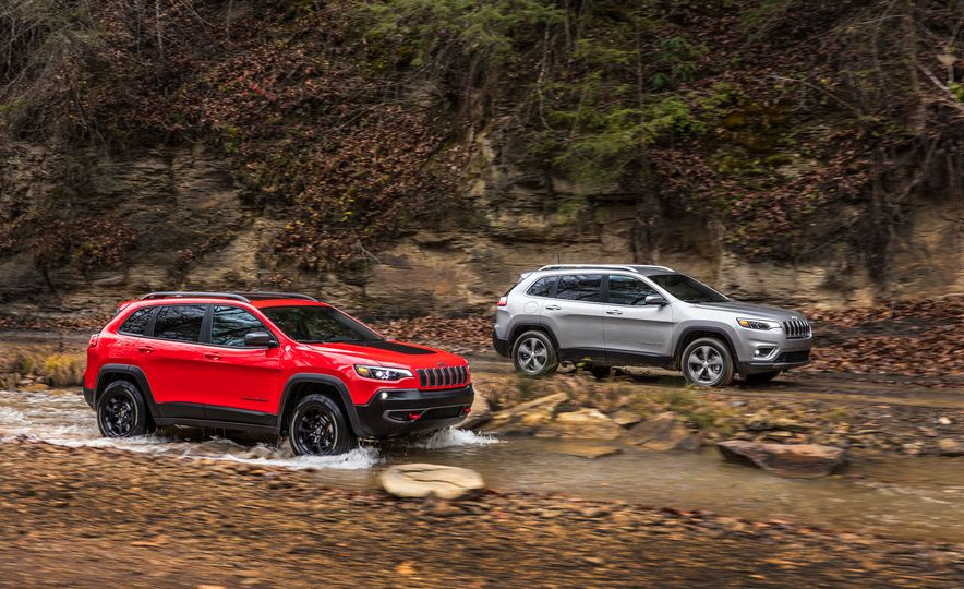 2019 Jeep Cherokee Trailhawk and Jeep Cherokee Limited - Slide 2