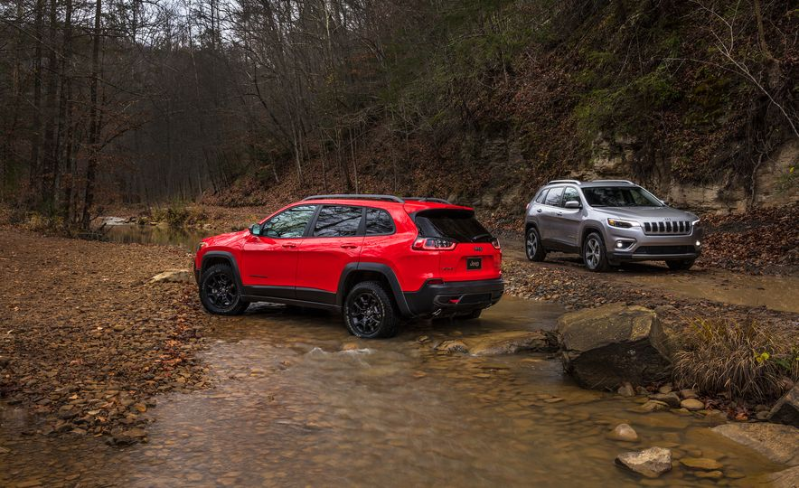 2019 Jeep Cherokee Trailhawk and Jeep Cherokee Limited - Slide 4