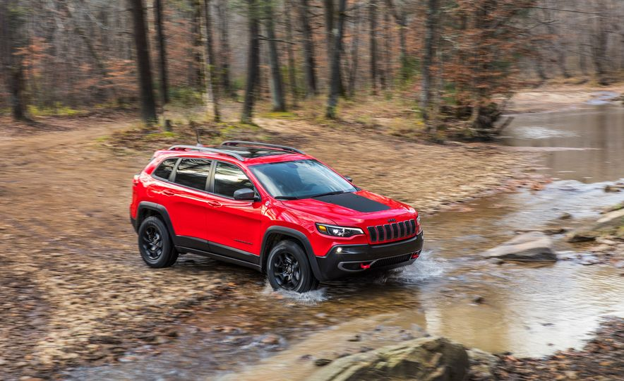 2019 Jeep Cherokee Trailhawk and Jeep Cherokee Limited - Slide 6