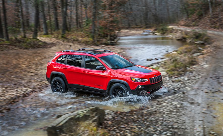 2019 Jeep Cherokee Trailhawk and Jeep Cherokee Limited - Slide 8