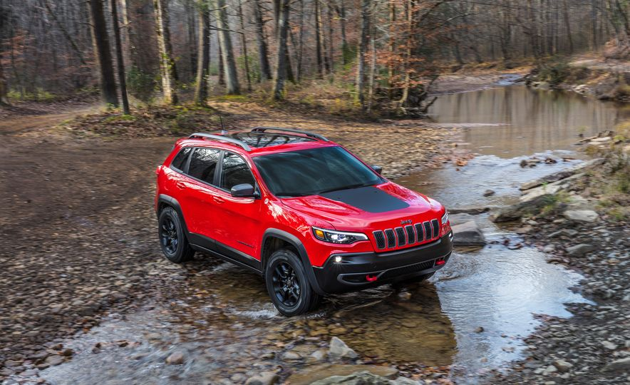 2019 Jeep Cherokee Trailhawk and Jeep Cherokee Limited - Slide 9