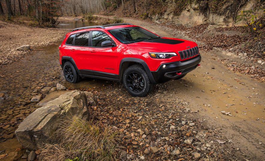 2019 Jeep Cherokee Trailhawk and Jeep Cherokee Limited - Slide 11