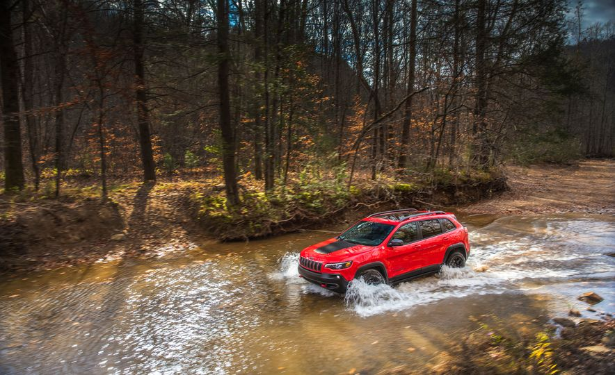 2019 Jeep Cherokee Trailhawk and Jeep Cherokee Limited - Slide 12