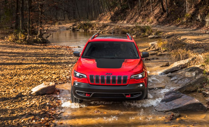 2019 Jeep Cherokee Trailhawk and Jeep Cherokee Limited - Slide 13