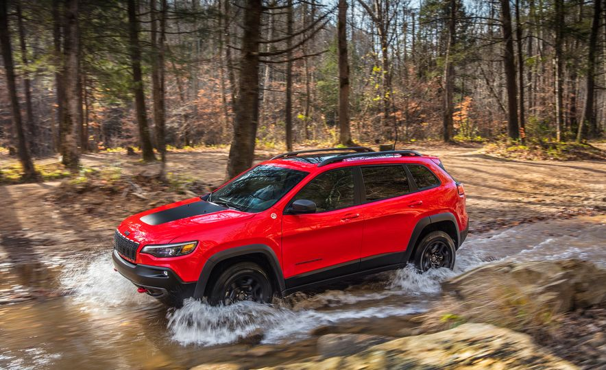 2019 Jeep Cherokee Trailhawk and Jeep Cherokee Limited - Slide 15