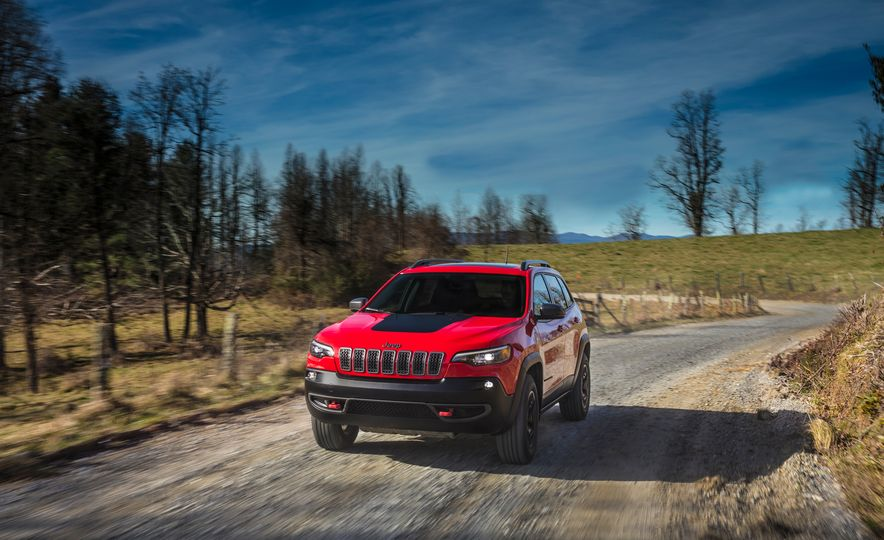 2019 Jeep Cherokee Trailhawk and Jeep Cherokee Limited - Slide 18