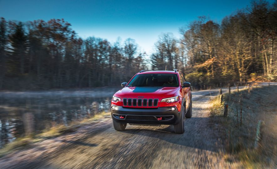 2019 Jeep Cherokee Trailhawk and Jeep Cherokee Limited - Slide 19