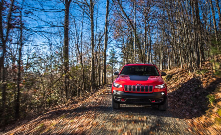 2019 Jeep Cherokee Trailhawk and Jeep Cherokee Limited - Slide 23