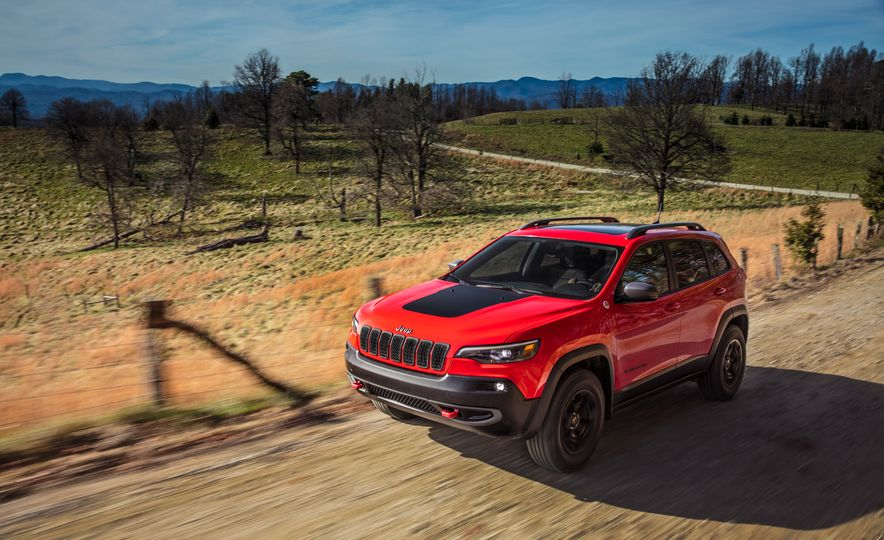 2019 Jeep Cherokee Trailhawk and Jeep Cherokee Limited - Slide 25