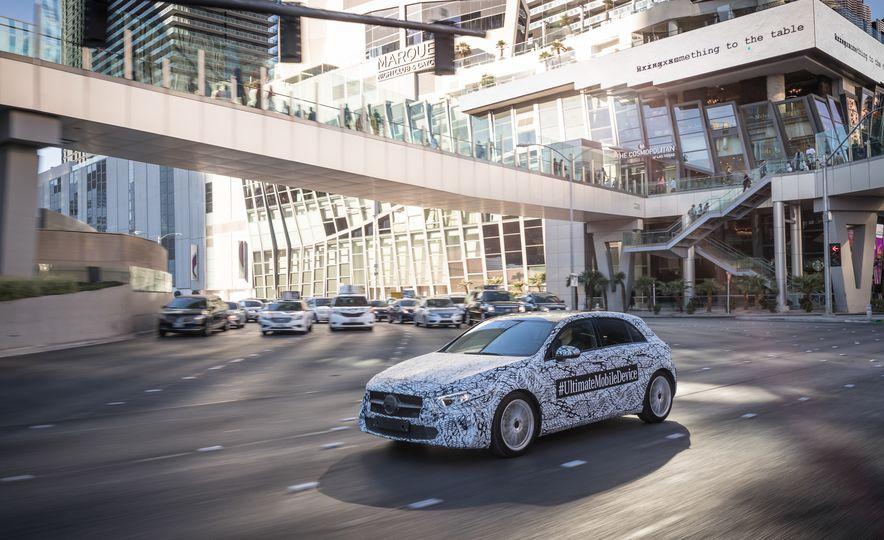 2019 Mercedes-Benz A-class hatchback - Slide 1
