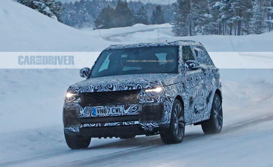2020 Range Rover SV coupe (spy photo) - Slide 1