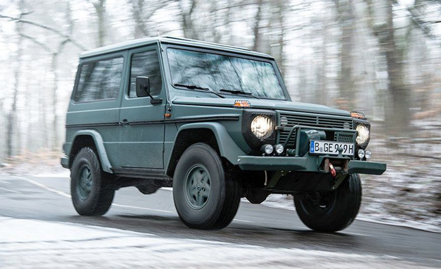 From Brute to Bourgeois: A Brief Visual History of Mercedes-Benz's G-wagen SUV - Slide 5