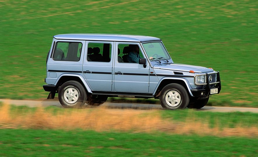 From Brute to Bourgeois: A Brief Visual History of Mercedes-Benz's G-wagen SUV - Slide 8