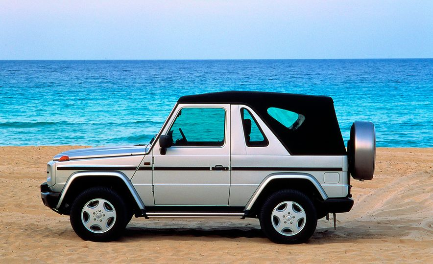 From Brute to Bourgeois: A Brief Visual History of Mercedes-Benz's G-wagen SUV - Slide 9