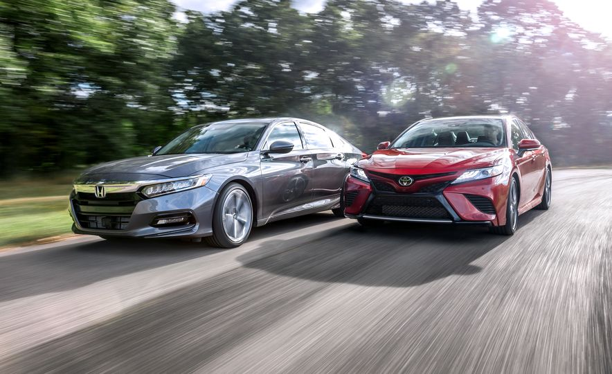 2018 Honda Accord and 2018 Toyota Camry - Slide 1