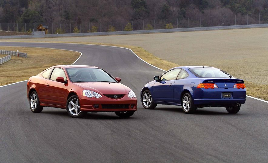 Acura RSX Type S and Acura TL Type S - Slide 1