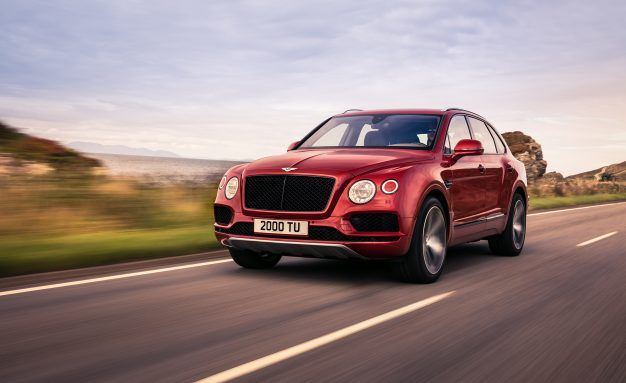 SUV-8: Bentley Bentayga Gets a 542-HP Twin-Turbo Eight-Cylinder