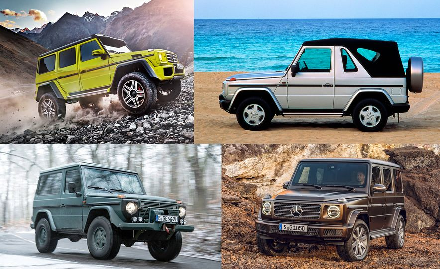 From Brute to Bourgeois: A Brief Visual History of Mercedes-Benz's G-wagen SUV - Slide 1