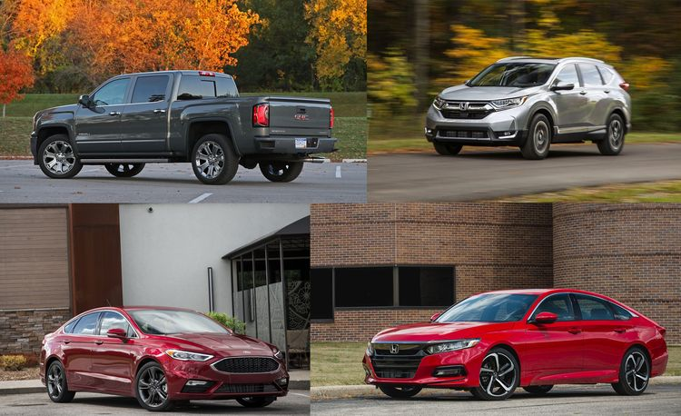 The Best-Selling Vehicles of 2017 Aren't All Trucks and SUVs (Just Most of Them)
