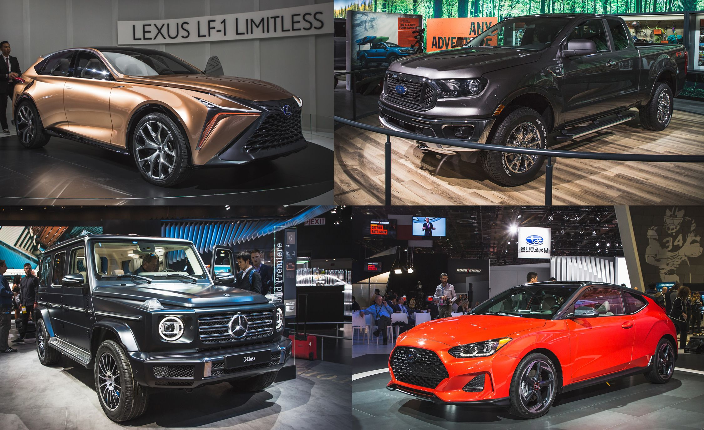 The MustSee Highlights From The Detroit Auto Show - Car show detroit 2018