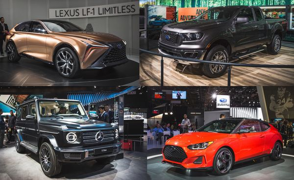 Detroit Auto Show New Debuts And Future Cars Car And Driver - Detroit car show 2018 dates