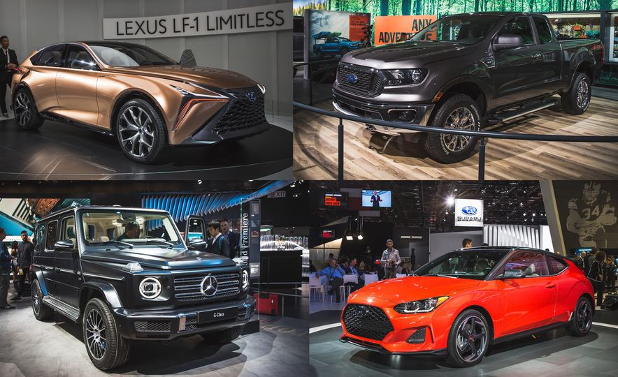 The 12 Must-See Highlights from the 2018 Detroit Auto Show - Slide 1