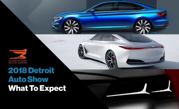 Detroit Auto Show Preview Heres What To Expect News Car - Car show detroit 2018