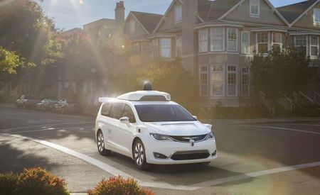 Chrysler to Supply Waymo with Way More Pacifica Minivans