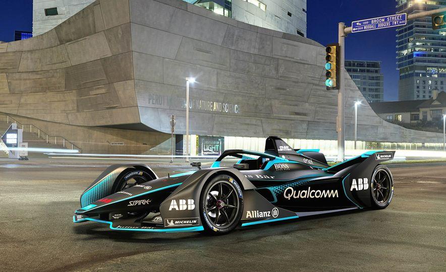 Gen2 Formula E race car - Slide 1