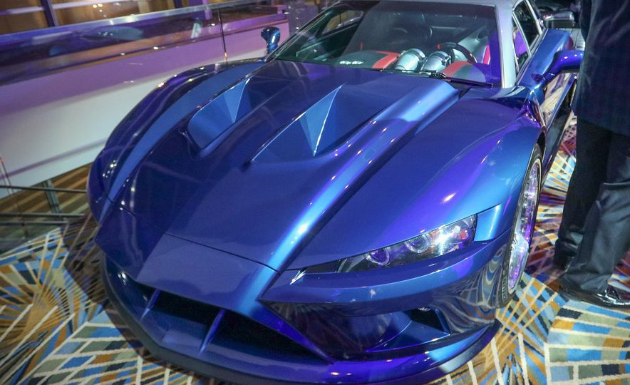 Go inside the Detroit Auto Show's $250-per-Ticket Exotic-Car Showcase - Slide 12
