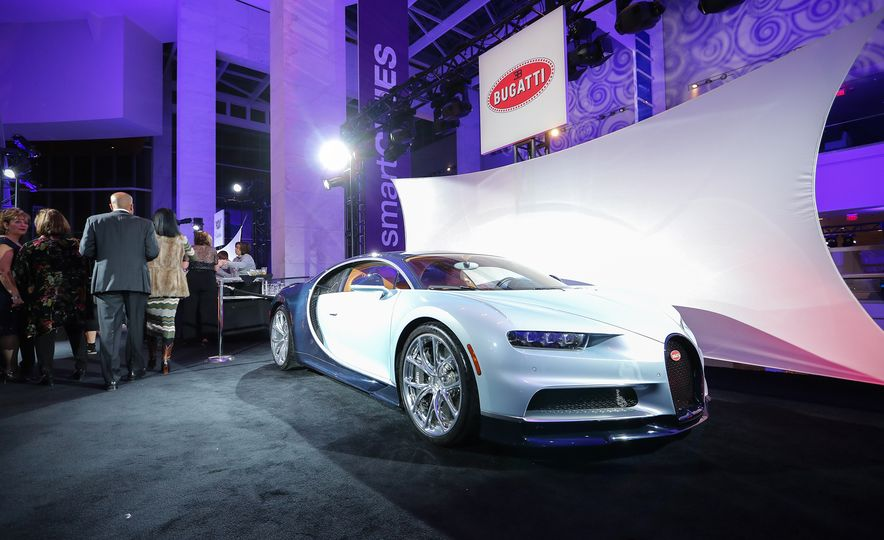 Go inside the Detroit Auto Show's $250-per-Ticket Exotic-Car Showcase - Slide 1