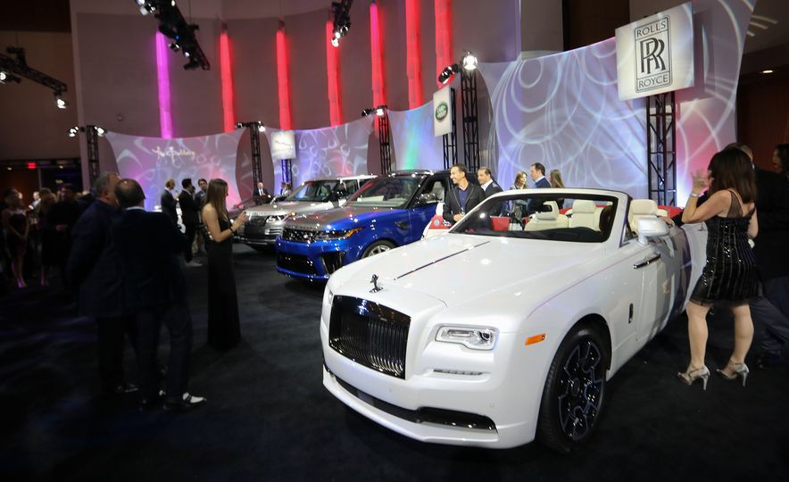 Go inside the Detroit Auto Show's $250-per-Ticket Exotic-Car Showcase - Slide 17