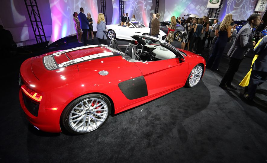 Go inside the Detroit Auto Show's $250-per-Ticket Exotic-Car Showcase - Slide 19
