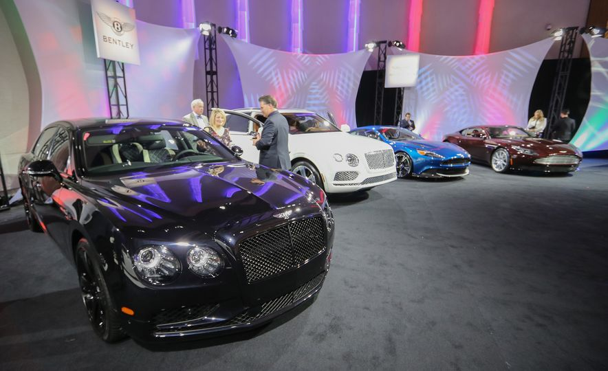 Go inside the Detroit Auto Show's $250-per-Ticket Exotic-Car Showcase - Slide 21