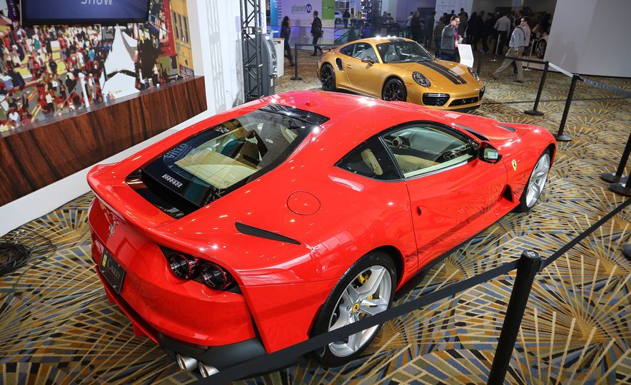 Go inside the Detroit Auto Show's $250-per-Ticket Exotic-Car Showcase - Slide 8