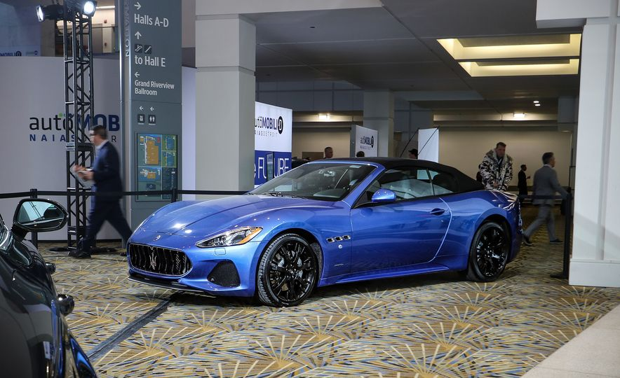 Go inside the Detroit Auto Show's $250-per-Ticket Exotic-Car Showcase - Slide 10