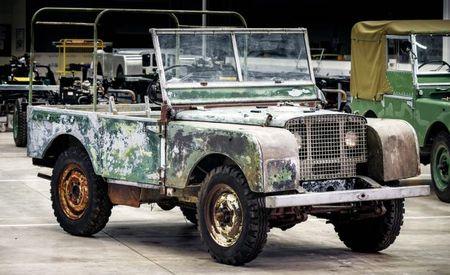 Land Rover Begins Restoration of Land Rover Series I, Number One