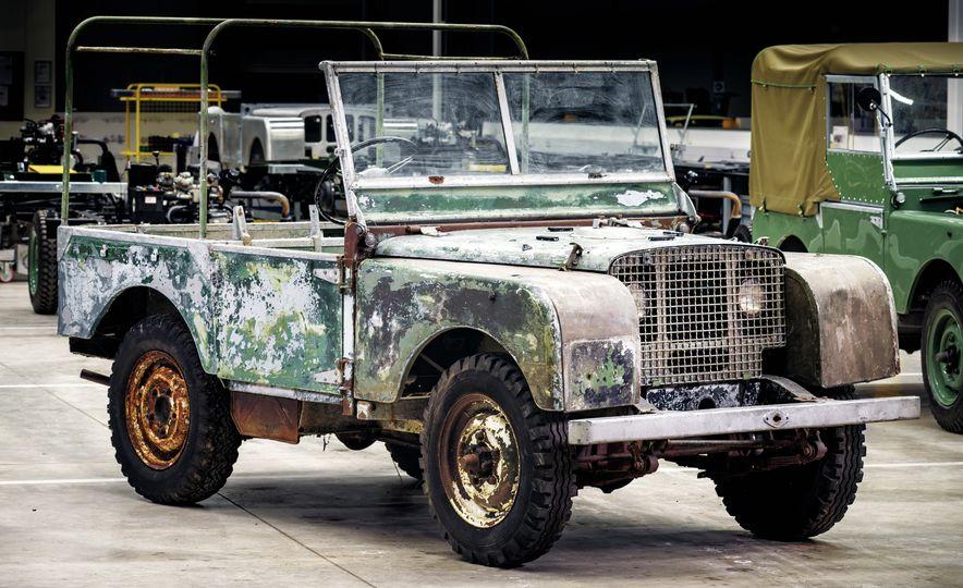 Land Rover Begins Restoration of Land Rover Series I, Number One - Slide 1