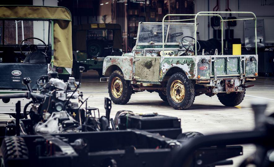 Land Rover Begins Restoration of Land Rover Series I, Number One - Slide 2