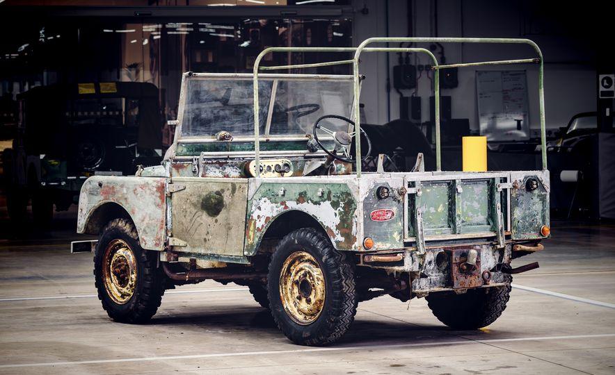 Land Rover Begins Restoration of Land Rover Series I, Number One - Slide 3