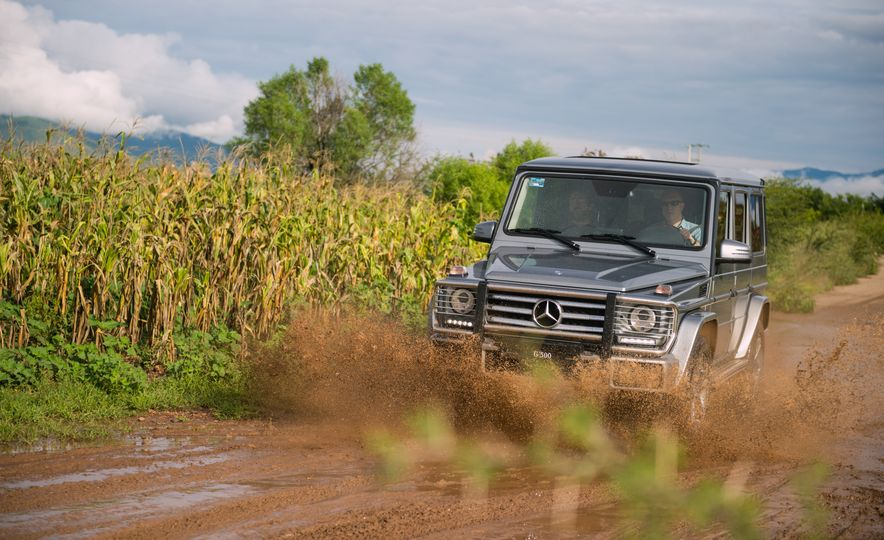 Mercedes-Benz G-500 - Slide 1