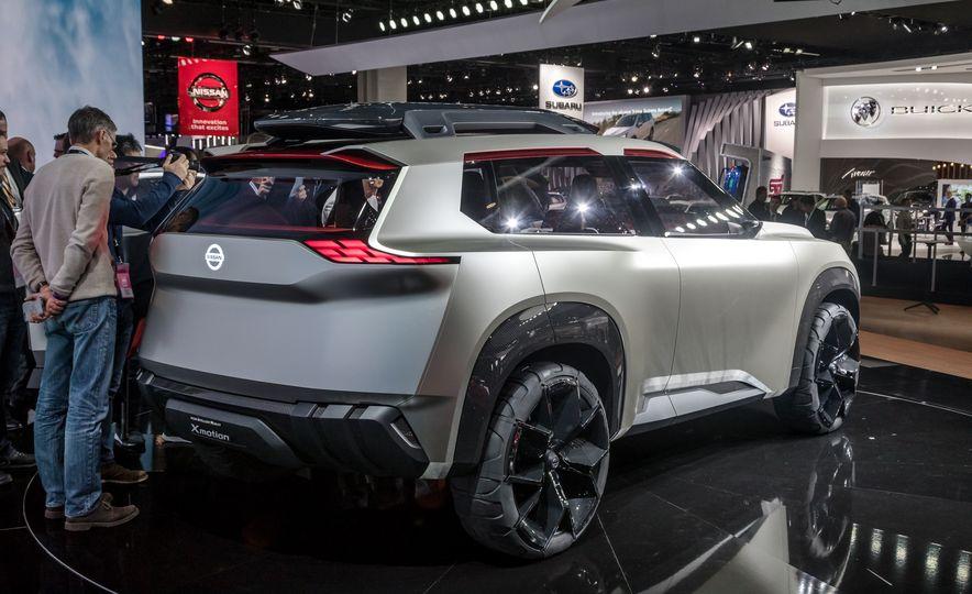 Nissan Xmotion concept - Slide 15