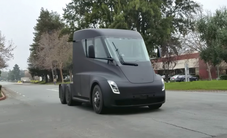 Tesla Semi Caught Testing, Quietly, on Public Roads [Video]