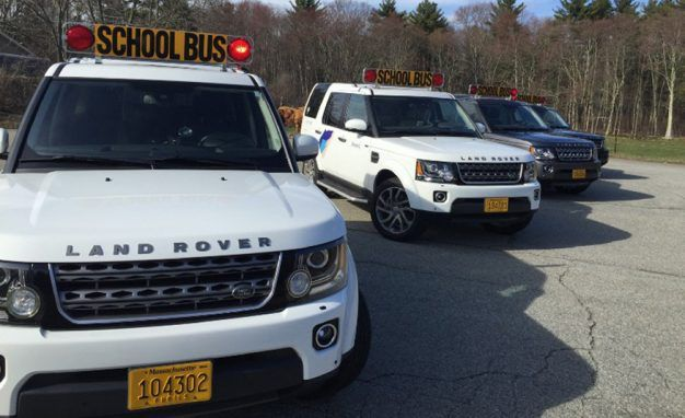 A Tech Startup Will Ferry Your Kids to School in a Land Rover School Bus