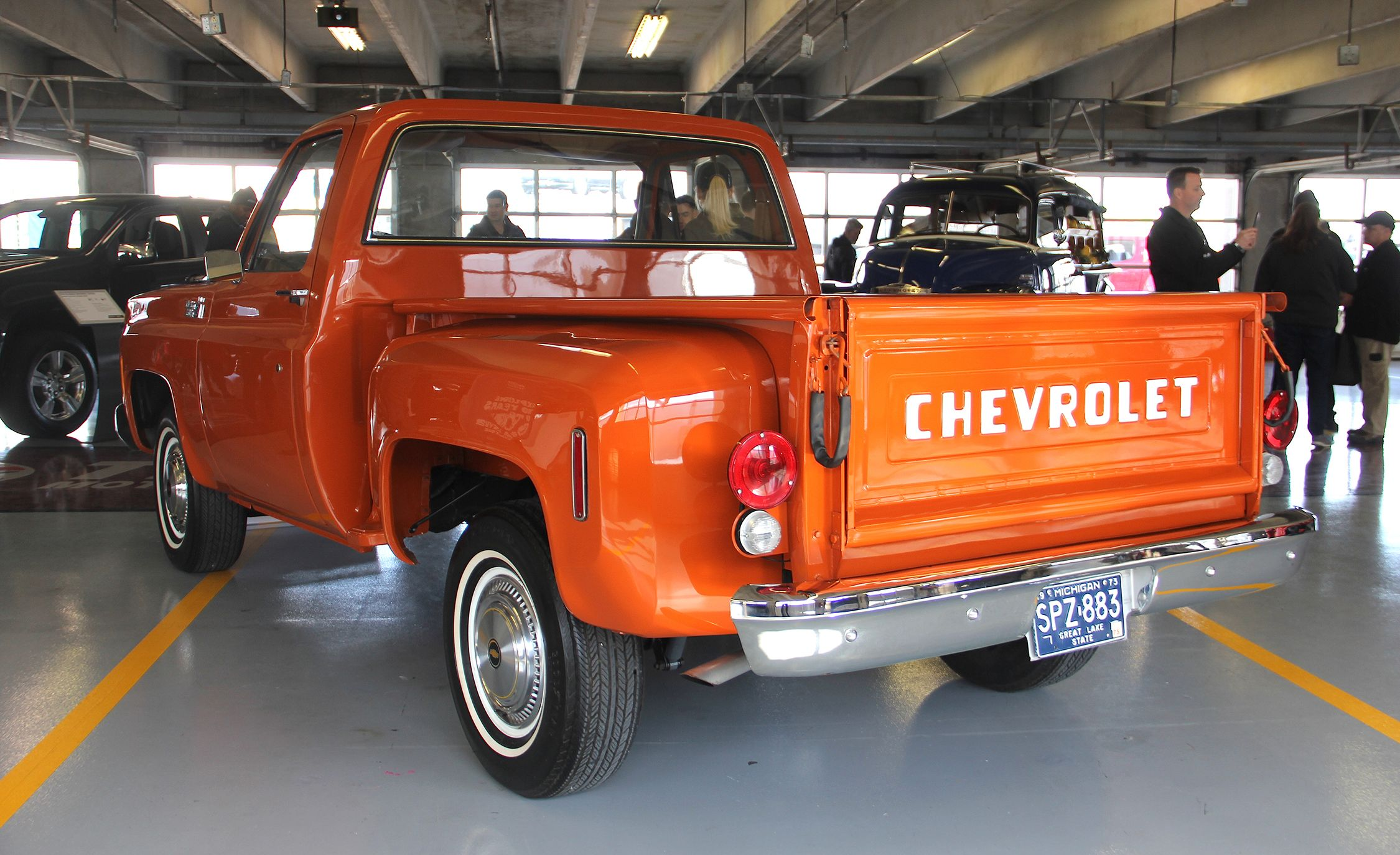The Coolest Classic Trucks That Chevrolet Brought To Its Truck 1949 Dodge Stepside Divisions 100th Anniversary Party
