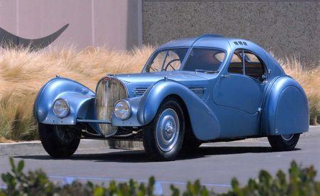 The Best Around: Stunning 1936 Bugatti Type 57SC Atlantic Wins Best of the Best Award