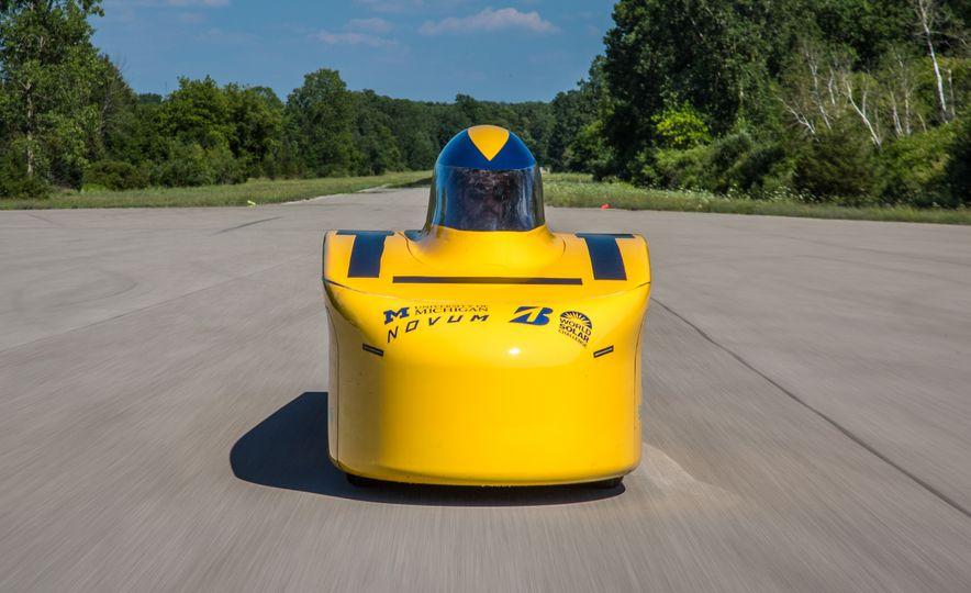 2017 University of Michigan Novum Solar Car - Slide 3